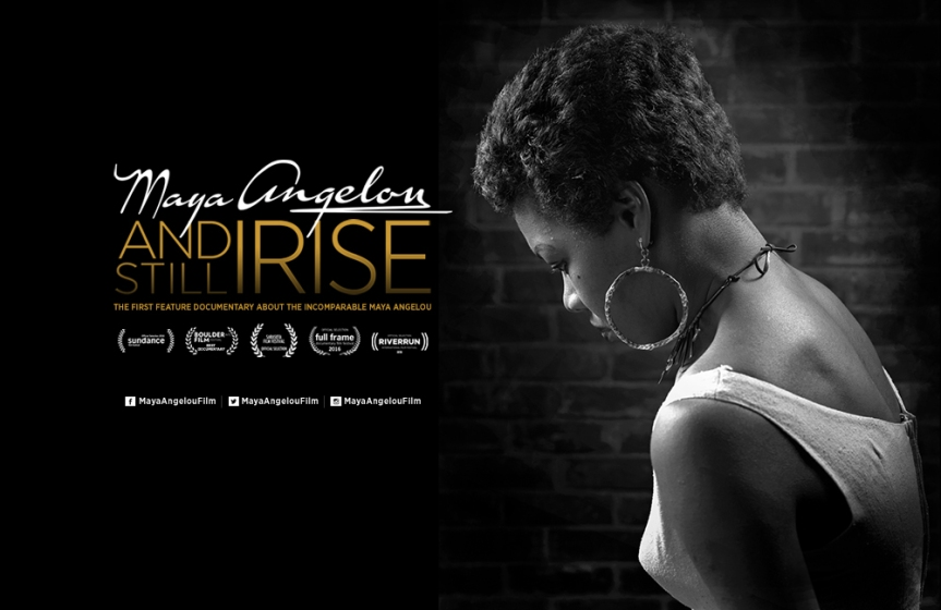 2017 Event -Film Screening: Maya Angelou and Still I Rise, DOXA Documentary Film Festival's Motion Pictures Film Series – February 27, 2017 @ 7:30pm @ Kay Meek Centre (1700 Mathers Ave. West Vancouver)
