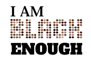 """2019 Event -Art Installation: Artist Jibola Fagbamiye presents """"I AM ________ENOUGH"""" @ Cheeky Proletariat Storefront Gallery, 320 Carrall Street(Vancouver)"""