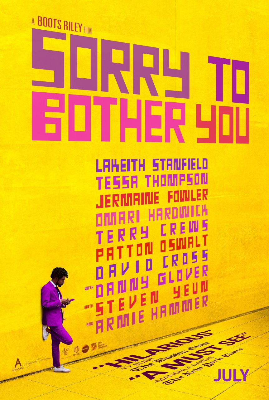 2019 Event -Film Screening: Sorry to Bother You – Feb 3, 2019 @ 8:30pm @ Rio Theatre, 1660 East Broadway(Vancouver)