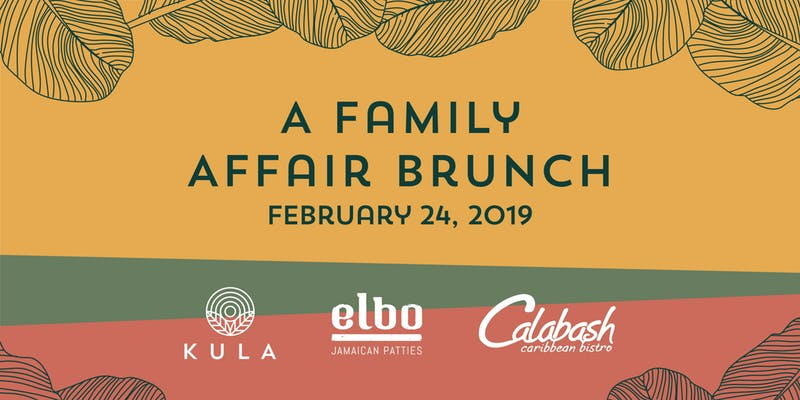 Restaurant: A Family Affair Brunch -February 24, 2019  @ 10:30am @ Calabash Bistro, 428 Carrall Street (Vancouver)