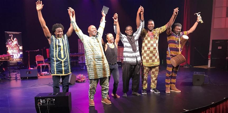 Community Event: ISSAMBA – Your Ultimate Journey through the Depths of African Rhythms-  February 15, 2020 @ 7:30pm-10:00pm-@ Dave Dunnet Community Theatre – 2121 Cadboro Bay Road (Victoria)