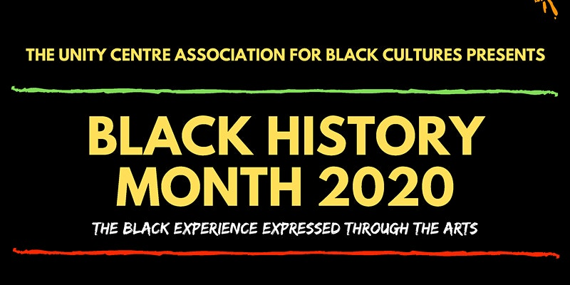 Community Event: Unity Centre Association for Black Cultures (UCABC) Black History Month 2020 event – The Black Experience Expressed through the Arts- Feb 1, 2020 @ 1:00pm @  Surrey City Hall, 13450 104 Avenue, (Surrey)