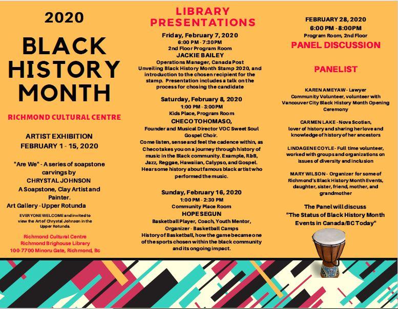 Community Event:  Thursday National Film Board Screenings–  February 6, 2020 @ 3:30pm @ Brighouse Library 100-7700 Minoru Gate(Richmond)